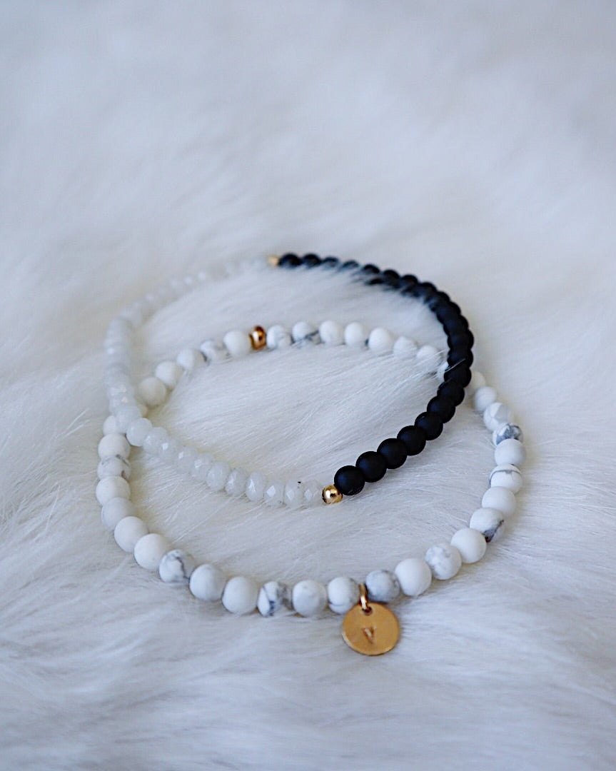 Matte Howlite with