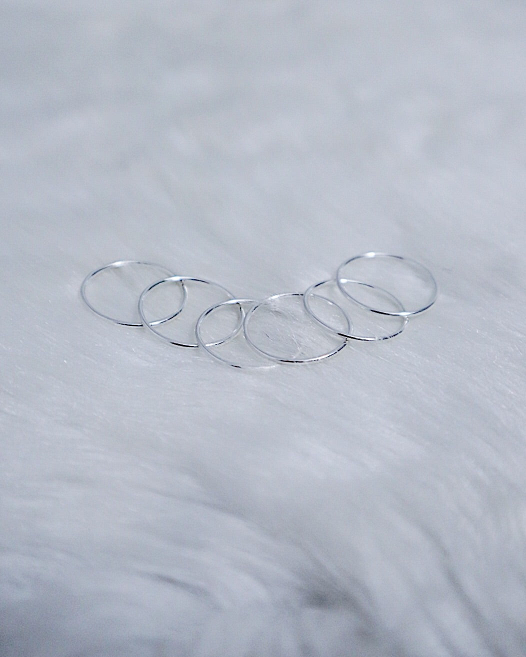 Polished Stacking Ring - Silver