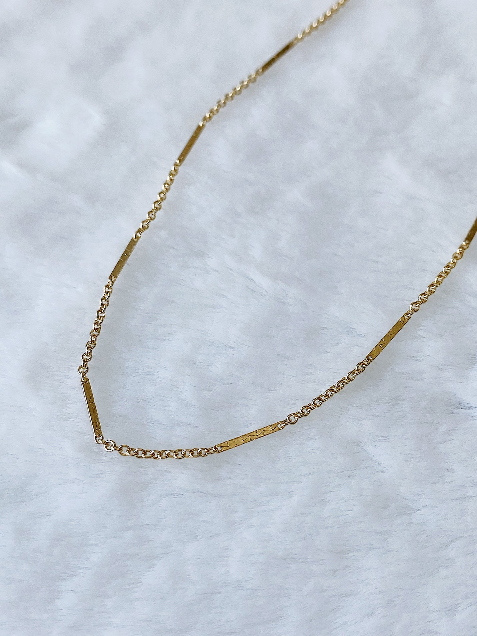 Thin Bar Chain Anklet ~ Morph