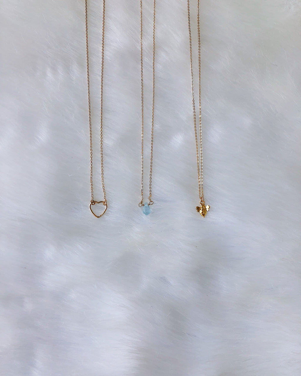 Bee Necklace - Gold