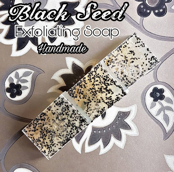Handmade Exfoliating Blackseed Soap