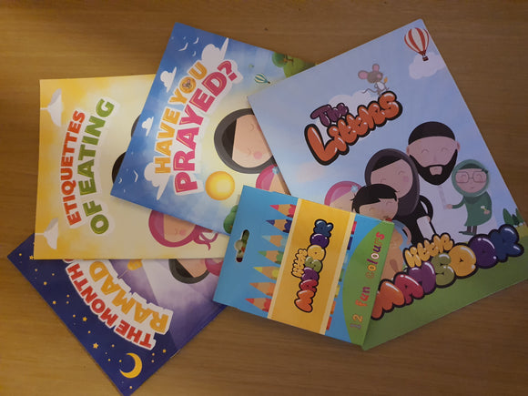 Little Maysoor Book Set English and Arabic