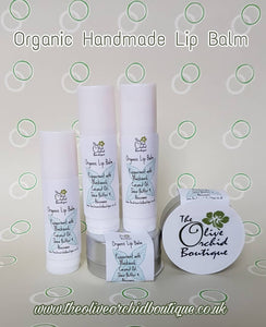 Organic Handmade Lip Balm Peppermint with Blackseed