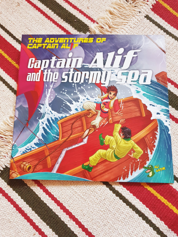 The Adventures of Captain Alif and the Stormy Sea