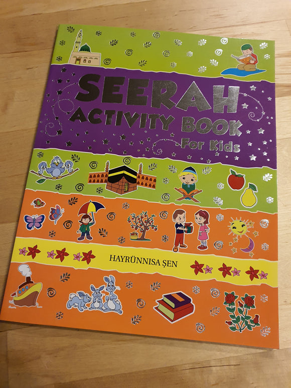 Seerah Activity Book for Kids
