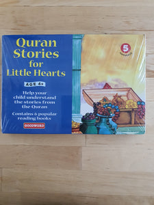 Quran Stories for Little Hearts Set 5 (6 books)