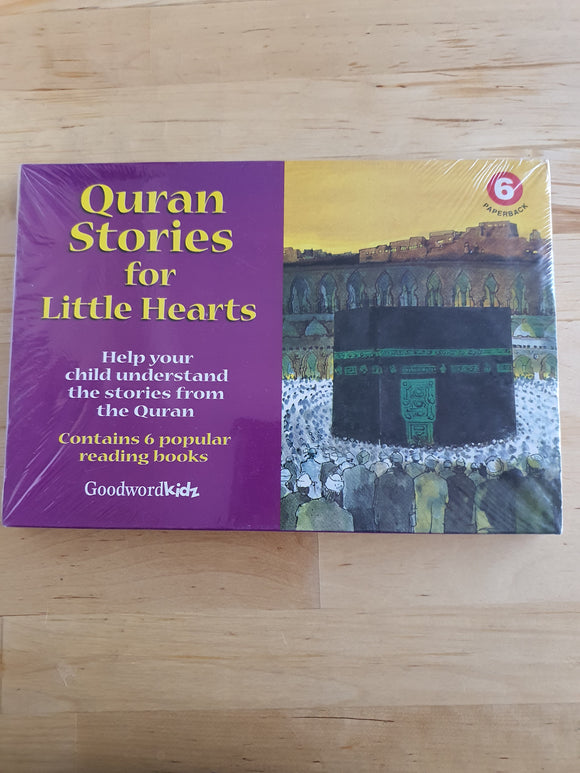 Quran Stories for Little Hearts Set 6 (6 books)