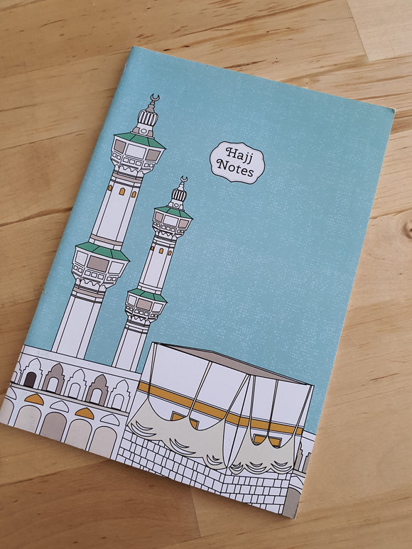 Hajj Notes Notebook