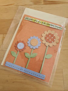 Handmade 'May Allah Give You Shifa Allahuma Aameen' Card