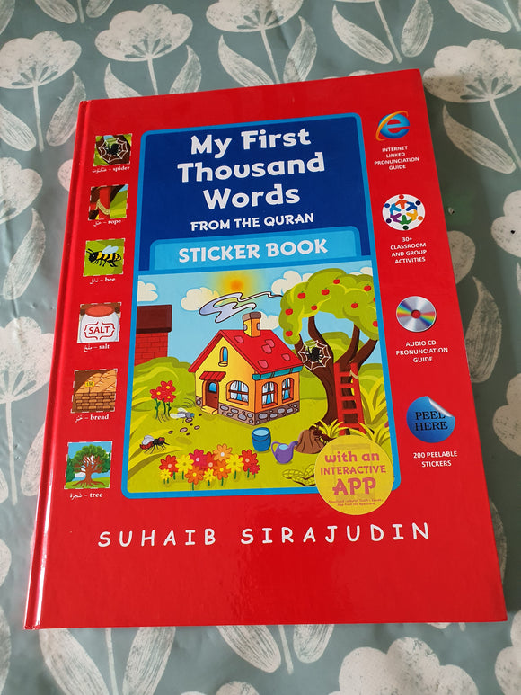 My First Thousand Words From The Quran Sticker Book