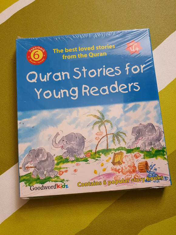 Quran Stories for Young Readers (6 books)