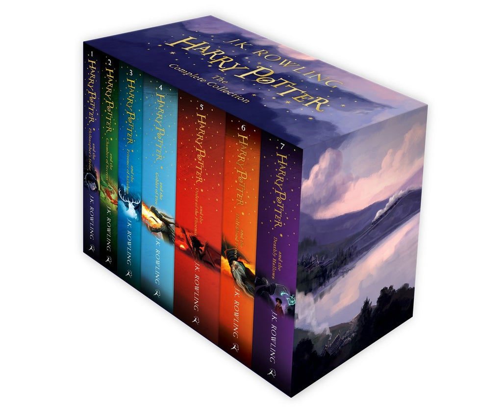 Pack Harry Potter 7 Tomos en Caja