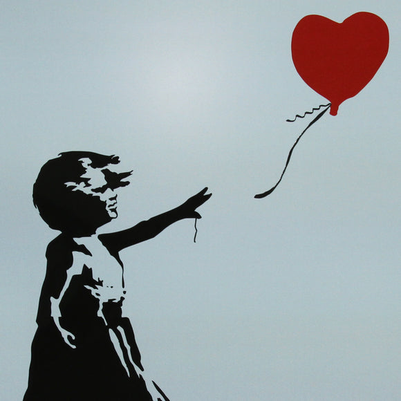 A4 Banksy Balloon Girl in Colour *DISCOUNTED OFFERS*  A3 Poster Print