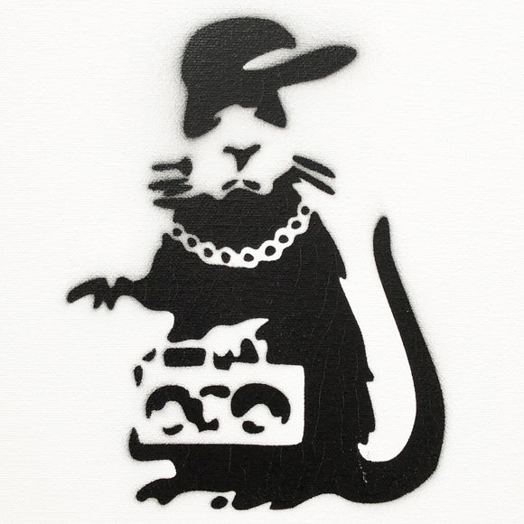 GANGSTA RAT CANVAS