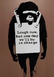 LAUGH NOW A6 POSTCARD PRINT