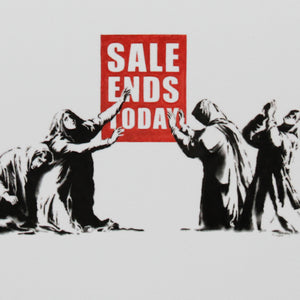 SALE ENDS TODAY A6 POSTCARD PRINT