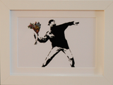 FLOWER THROWER A6 POSTCARD PRINT