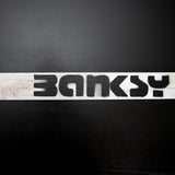 Banksy Logo Long Tile