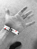 BANKSY WRISTBANDS