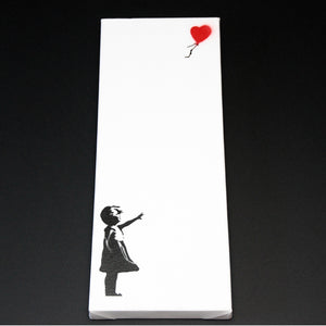 GIRL WITH BALLOON LONG CANVAS