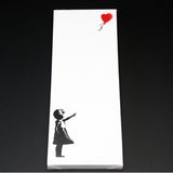 GIRL WITH BALLOON MEDIUM CANVAS