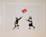 NO BALL GAMES WHITE POLYMER PRINT (A3 FRAMED / UNFRAMED)