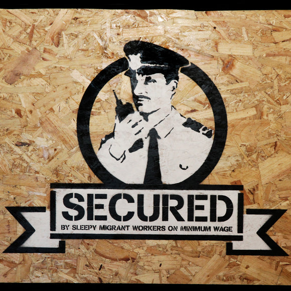 SECURED ON WOOD