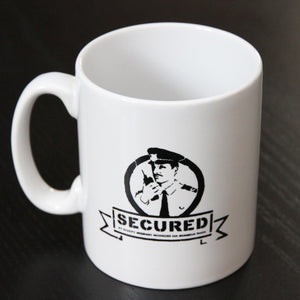 BANKSY SECURED MUG