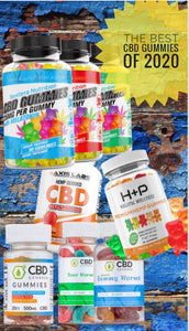 Best CBD Gummies of 2020 and How to Choose One