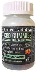 CBD Gummies- Full Spectrum CBD Gummies by Bextera Nutrition