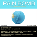 Bextera Nutrition Bextera Nutrition CBD Bath Bombs 35mg- 100mg CBD Pain Bomb
