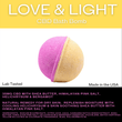 Bextera Nutrition Bextera Nutrition CBD Bath Bombs 35mg- 100mg CBD Love & Light