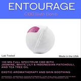 Bextera Nutrition Bextera Nutrition CBD Bath Bombs 35mg- 100mg CBD Entourage