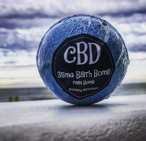 Bextera Nutrition CBD Bath Bombs 35mg- 100mg CBD - Bextera Nutrition