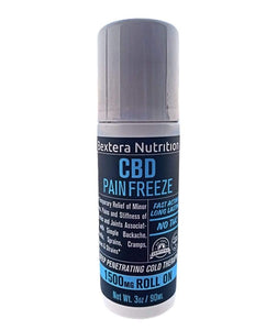 Bextera Nutrition  CBD Pain Freeze 1500mg CBD Roll-on