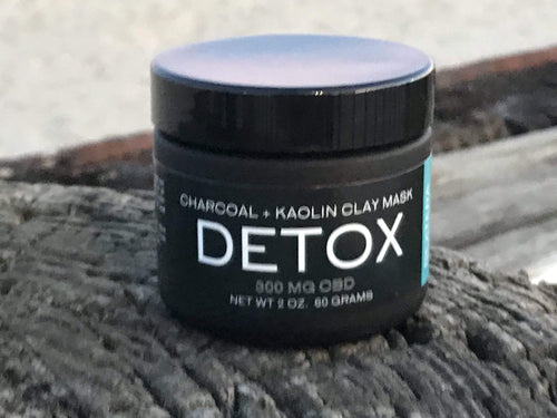Bextera Nutrition DETOX Charcoal CBD Mask I 300mg CBD