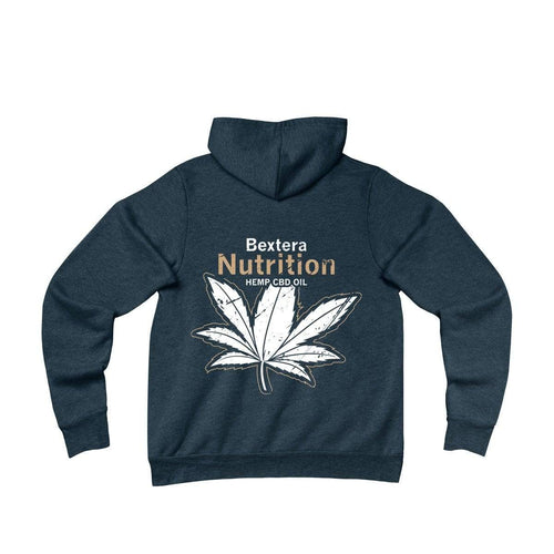 Unisex Sponge Fleece Pullover Hoodie in 4 great color options! - Bextera Nutrition