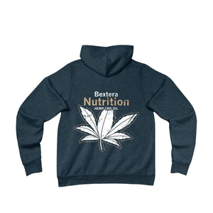 Bextera Nutrition Gear Hoodie Navy / S Unisex Sponge Fleece Pullover Hoodie in 4 great color options!