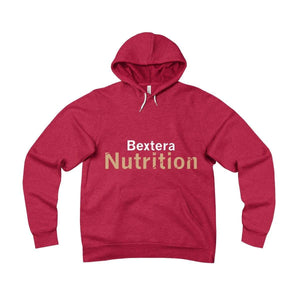 Bextera Nutrition Gear Hoodie Red / S Unisex Sponge Fleece Pullover Hoodie - in 4 great colors!