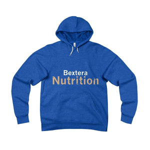 Bextera Nutrition Gear Hoodie True Royal / S Unisex Sponge Fleece Pullover Hoodie - in 4 great colors!