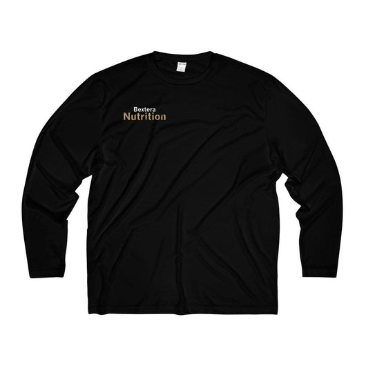 Bextera Nutrition Gear Long-sleeve Black / XS Men's Long Sleeve Moisture Absorbing Tee