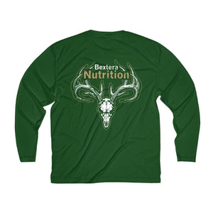 Men's Long Sleeve Moisture Absorbing Tee - Bextera Nutrition