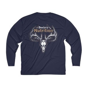 Bextera Nutrition Gear Long-sleeve Men's Long Sleeve Moisture Absorbing Tee