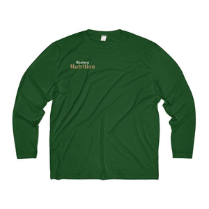 Bextera Nutrition Gear Long-sleeve Forest Green / XS Men's Long Sleeve Moisture Absorbing Tee