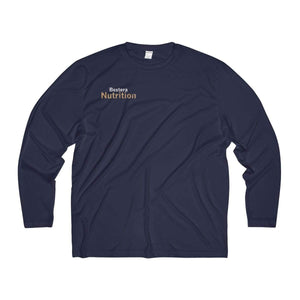 Bextera Nutrition Gear Long-sleeve True Navy / XS Men's Long Sleeve Moisture Absorbing Tee