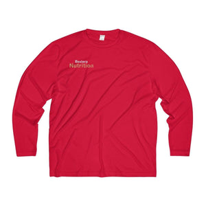 Bextera Nutrition Gear Long-sleeve True Red / XS Men's Long Sleeve Moisture Absorbing Tee