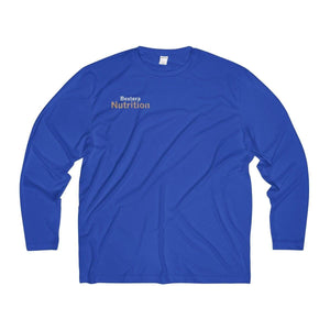 Bextera Nutrition Gear Long-sleeve True Royal / XS Men's Long Sleeve Moisture Absorbing Tee