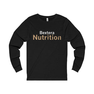 Bextera Nutrition Gear Long-sleeve Black / S Unisex Jersey Long Sleeve Tee