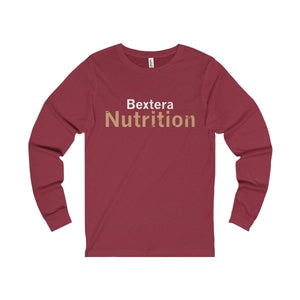 Bextera Nutrition Gear Long-sleeve Cardinal / S Unisex Jersey Long Sleeve Tee