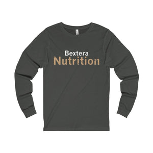 Bextera Nutrition Gear Long-sleeve Dark Grey / S Unisex Jersey Long Sleeve Tee